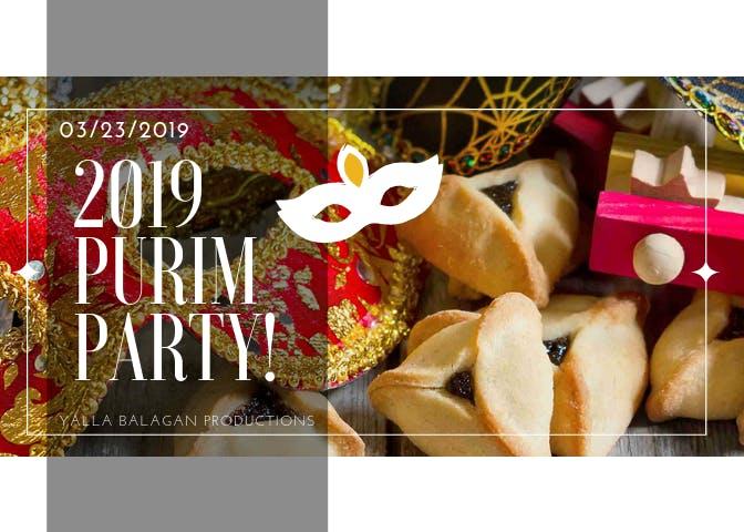 Phoenix 2019 Purim Party