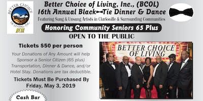 BCOL 16th Annual Black Tie Dinner & Dance - Saturday