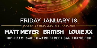 Resollective Takeover @ Temple (Limited guest list for Dzeko)