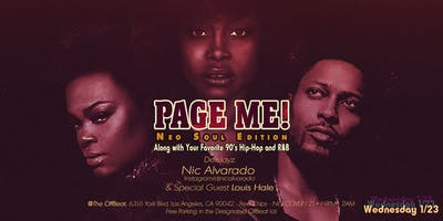 Page Me! Neo Soul Edition (90\