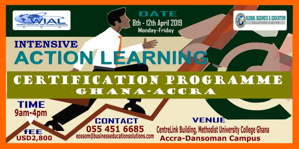 Intensive Action Learning Certification Programme Accra Ghana2nd