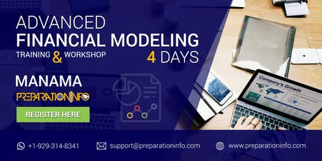 Advanced Financial Modeling Classroom Certification Program in Manama 4Days tickets