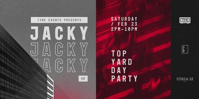 TIME: Jacky (UK) — Rooftop Day Party