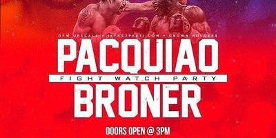 I Love Day Parties Pacquiao/Broner Fight Party + Hip Hop & Hookah @ Level