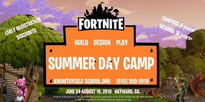 Fortnite Themed Summer Day Camp