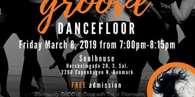 Free Community Groove Dance Party with Torild Thornsohn