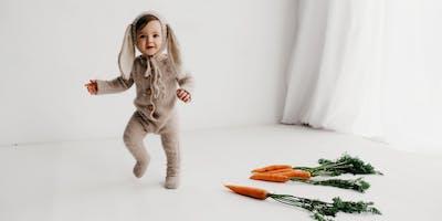 Easter Bunny photoshoot