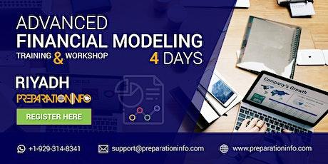 Advanced Financial Modeling Classroom Program in Riyadh 4 Days tickets