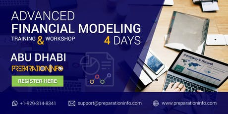 Advanced Financial Modeling Classroom Training & Certification in Abu Dhabi tickets