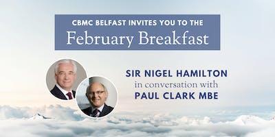 CBMC February Breakfast: Sir Nigel Hamilton in conversation with Paul Clark MBE