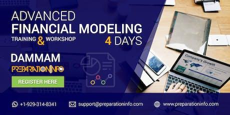 Advanced Financial Modeling Certification Classroom Program in Dammam 4Days tickets