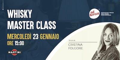 Masterclass sul Whisky - con Cristina Folgore