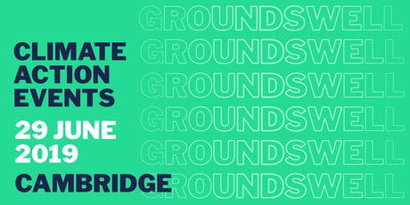Groundswell Cambridge tickets