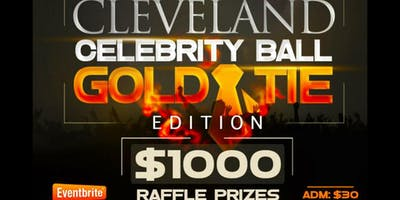 CLEVELAND CELEBRITY BALL GOLD TIE EDITION