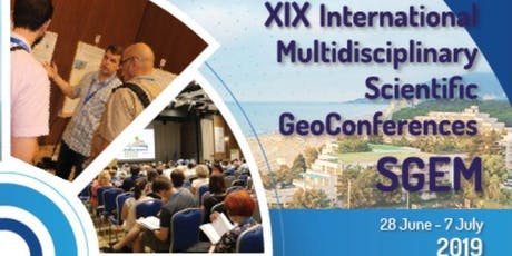 SGEM GeoConference 2019 tickets