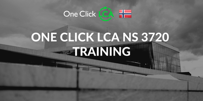 One Click LCA NS 3720 Training