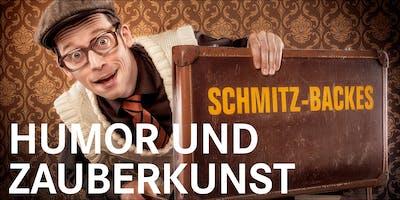 "Comedy-Zauberer Schmitz-Backes ""Humor und Zauberkunst"""