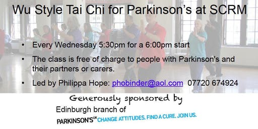 Wu Style Tai Chi for Parkinson's