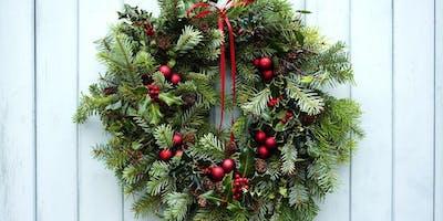 Create your own festive door decoration