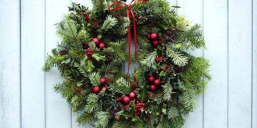 Create your own festive door decoration