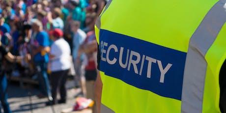 Vorbereitung auf die Sachkundeprüfung im Bewachungsgewerbe gem. § 34a GewO - Juli 2019 Tickets