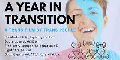 A Year in Transition: A Trans Film by Trans People Screening
