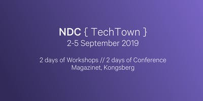 NDC TechTown 2019 - Software Development for Products