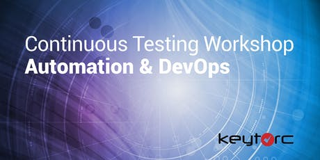 Continuous Testing Workshop : Automation & DevOps tickets
