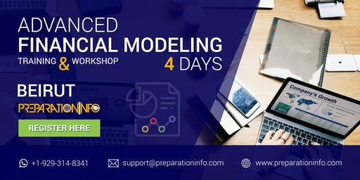 Advanced Financial Modeling Certification Classroom Program in Beirut 4Days