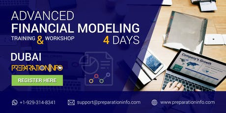 Advanced Financial Modeling Certification Classroom Program in Dubai 4 Days tickets