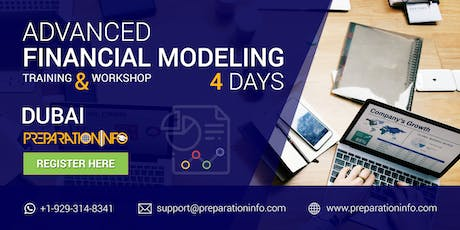 Advanced Financial Modeling Classroom Training and Certifications in Dubai tickets