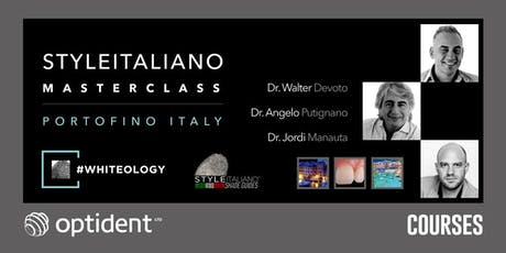 #WHITEology StyleItaliano Masterclass biglietti
