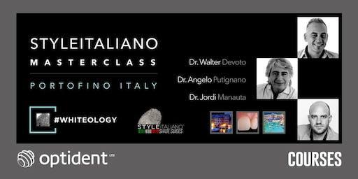 #WHITEology StyleItaliano Masterclass