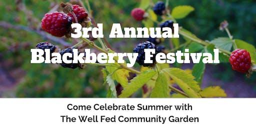 Annual Blackberry Festival