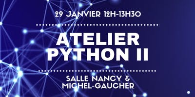 Atelier Python II