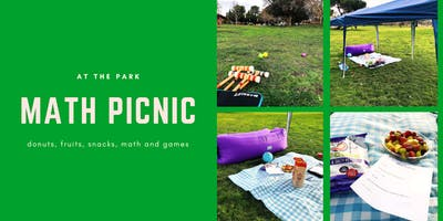 Math Picnic at the Park - high school ONLY (fruits, snacks, math and games)