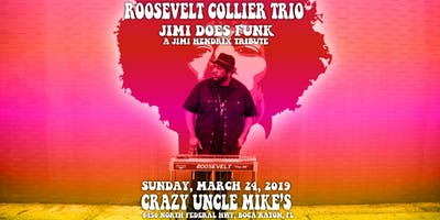 "Roosevelt Collier Trio ""Jimi Does Funk"" Hendrix Tribute"