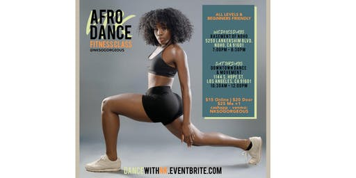 Afrobeats Saturday Dance Class w/ NK - LA