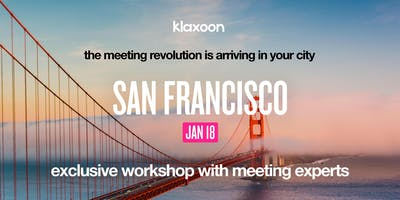 On-the-road workshops - San Francisco