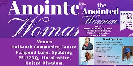 The Anointed Woman by Vision Carriers United kingdom(Women intercessors for tickets