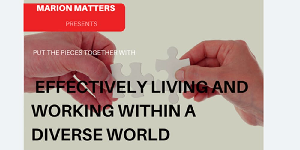 Effectively Living And Working Within A Diverse World Tickets Fri