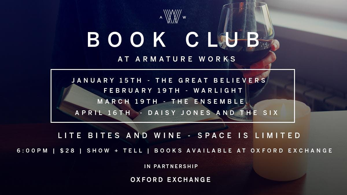 Armature Works Book Club - February 19th