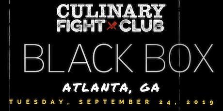 Culinary Fight Club - ATLANTA: The Black Box Challenge tickets