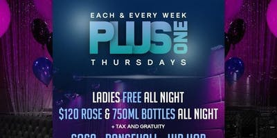 MLK THURS | STAKZ x MISTERGROOVE x 10 SPEED | PLUSONE THURSDAYS | LADIES FREE ALL NIGHT w/RSVP