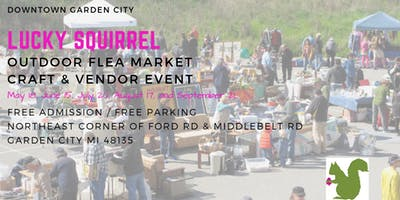 Lucky Squirrel Flea Market, Craft & Vendor Event - June 15 Free Admission