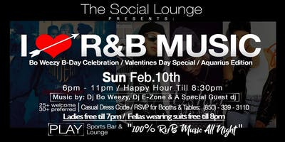 The Social Lounge / Valentines Day Special / Aquarius Edition