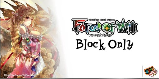 Force of Will: Block Only