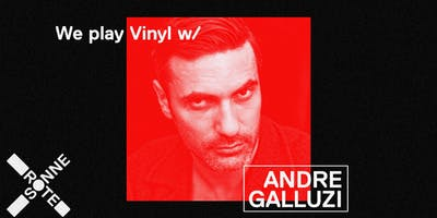 We Play Vinyl by André Galluzzi at Rote Sonne München