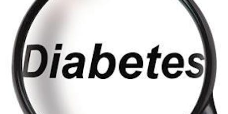 Diabetic Support Group August 2019 tickets