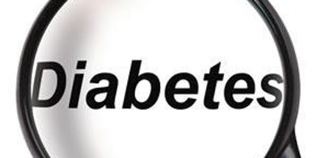 Diabetic Support Group September 2019 tickets